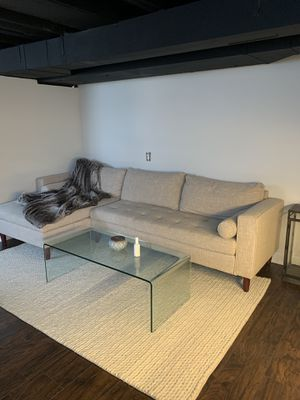 Modern sectional couch!! for Sale in Royal Oak, MI