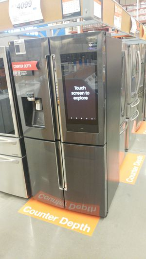 4 doors family hub refrigerator. Brand new never used b4 for Sale in Sully Station, VA