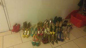 Hella heels 25-30apiece 3 for 50 orB.O FOR ALL for Sale in Henderson, NV