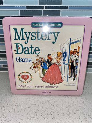 Mystery Date Game nostalgia edition for Sale in Hollywood, FL