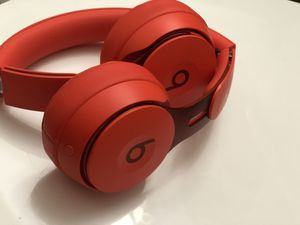 Beats Solo Pro Wireless Noise Cancelling On-Ear Headphones - More Matte Collection - Red for Sale in Landover, MD