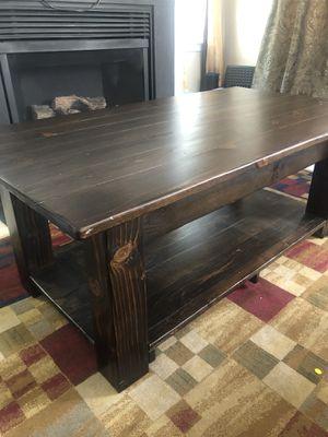 Custom made coffee table for Sale in Ashburn, VA