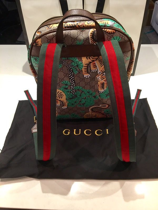 1d614aaa340abf GUCCI BENGAL GG SUPREME BACKPACK - AAAA QUALITY for Sale in Fort ...