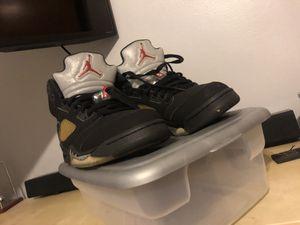 Jordan 5's retro for Sale in Linden, NJ