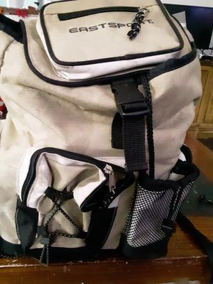 Fishing gear garlic scent backpack included over 150 lures etc. for Sale in Detroit, MI