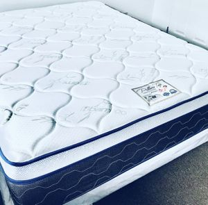 "QUEEN SIZE MATTRESS PILLOW TOP ORTHOPEDIC MIDIUM FIRM 14""BRAND NEW DELIVERY AVAILABLE. We finance for Sale in Central Falls, RI"