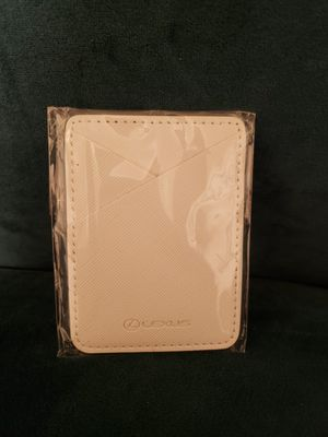 BRAND NEW - Lexus leather phone card holder for Sale in West Hollywood, CA