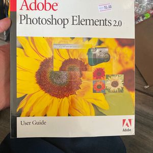 Adobe Photoshop elements 2.0 user guide $40 value for Sale in FL, US