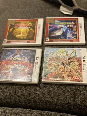 Nintendo 3DS games for Sale in Albuquerque, NM