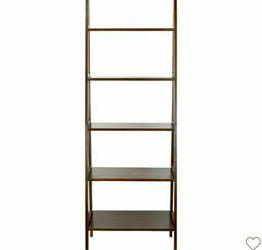 """72"""" Espresso Colored Shelf Ladder Book Case; Brown for Sale in Santa Clara,  CA"""