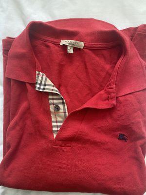 Men's Burberry long sleeve for Sale in Norcross, GA