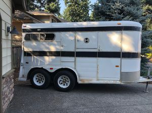 1990 Chief Front Load Horse Trailer for Sale in Battle Ground, WA