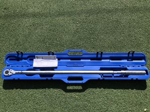 """Westward 4RYK3 Micrometer Torque Wrench, 3/4 Dr, Ratchet , 48-1/2"""" L for Sale in Los Angeles, CA"""