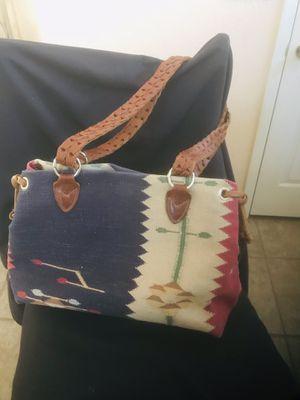 Southwest heavy leather strap bag for Sale in Las Vegas, NV