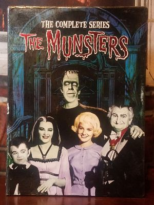 The Munsters The Complete Series DVD Box Set Season 1 & 2 All 70 Episodes Bonus for Sale in Tampa, FL