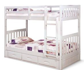 New white bunk bed for Sale in Austin, TX
