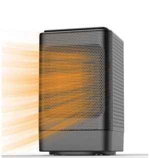 Space Heater, Indoor Personal Heater, Electric Ceramic Heater with Over Heat Protection, Tip Over Protection, 3 Heat Settings, Quick Heat up for Home for Sale in Tampa, FL