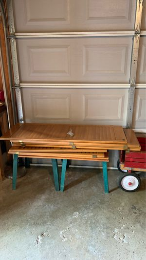 Free ... 8 real wood window Shutter for Sale in Dearborn Heights, MI