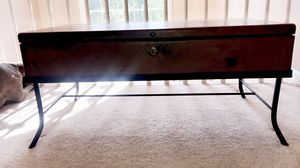 Wood coffee table with storage for Sale in Atlanta, GA