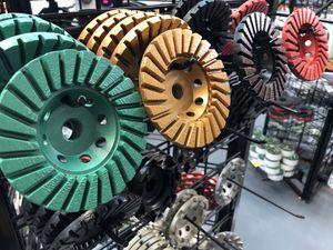 "4"" Turbo Coarse Grit Threaded Cup Wheels for Sale in Pompano Beach, FL"