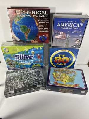 Games Puzzles Slime Kit Trivia Kids Education for Sale in Redondo Beach, CA