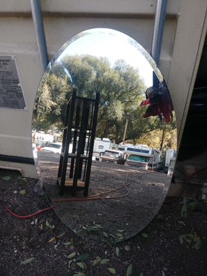 Vintage Oval beveled Mirror 36x24 - $30 for Sale in Colorado Springs, CO