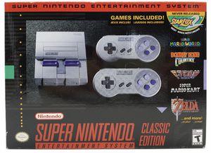 Nintendo super NES classic edition for Sale in Mebane, NC