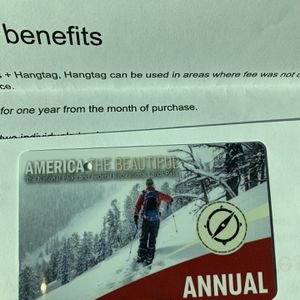 National Parks Pass Expires Nov 31st 2021 for Sale in Redlands, CA