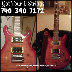 Shoot us a call/text for all your guitar needs for Sale in Mount Vernon, OH