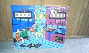 1969 airport pinball backglass and plastics set for Sale in Tempe, AZ