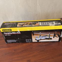 Stanley Clamping Mitre Box With Saw for Sale in St. Louis,  MO
