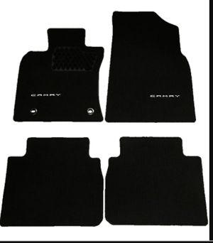 Black Carpet 2019 Toyota Camry rug mats for Sale in Chesapeake, VA