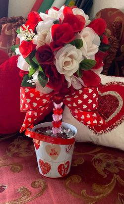 Valentines Rose Topiary for Sale in Ontario,  CA