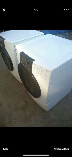 Set of washer and gas dryer kenmore for Sale in Fresno, CA