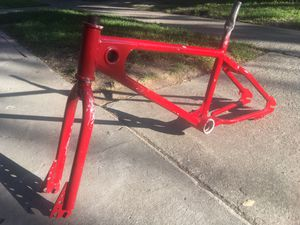 1979 MOTO ONE!! DOUBLE DROPOUT FORKS BMX FRAME for Sale in Union City, CA