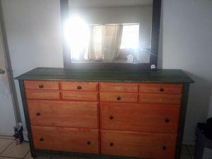 Beautiful Vintage emerald antique dresser for Sale in Miami, FL