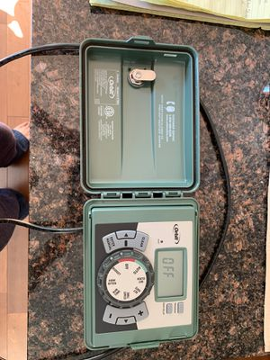Orbit 57894 4 zone sprinkler controller with Housing for Sale in Bothell, WA
