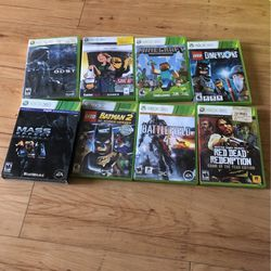 X-BOX 360 Games for Sale in Downey,  CA