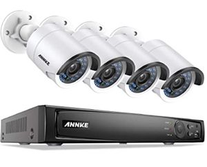 ANNKE Home PoE Security Camera System, Outdoor Wired Night Vision PoE IP Cameras, NVR Security System for Long Time Recording, Support Motion Detecti for Sale in Rancho Cucamonga, CA