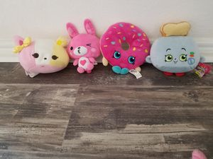 Assorted Plush Toys- Shopkins for Sale in Riverside, CA