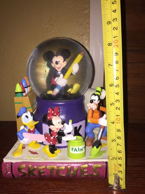 Large Disney snow globe $50.00 for Sale in Atlanta, GA