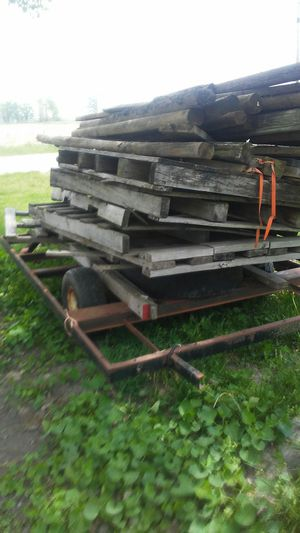 Trailer and wood for Sale in Jamestown, IN