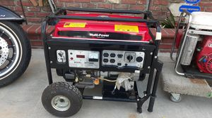 Generator model MP 7500e for Sale in West Covina, CA