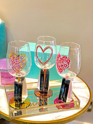 GLASS WINE LARGE BEAUTIFUL PEICES!!!!!!!!! for Sale in Falls Church, VA