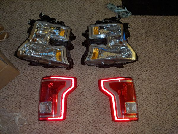2015-2017 F150 headlights+taillight set(halogen)