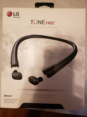 New sealed LG tone free. Bluetooth headphones for Sale in Cranston, RI