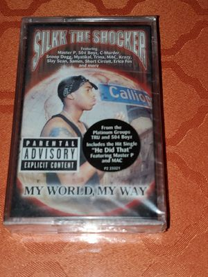Silk The Shocker Cassette Brand New for Sale in The Bronx, NY