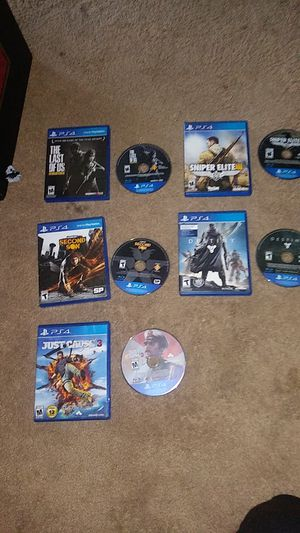 Brand new PS4 games (no sctratches) or OBO for Sale in Bakersfield, CA