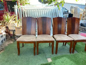 Chairs / dinning chairs 4 for Sale in Las Vegas, NV