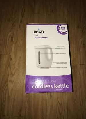 Cordless kettle, used once for Sale in Chantilly, VA